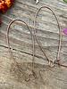 Antique Copper Kidney Wire 18x47- 1Pair