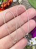 Silver Kidney Wire 18x47- 1Pair