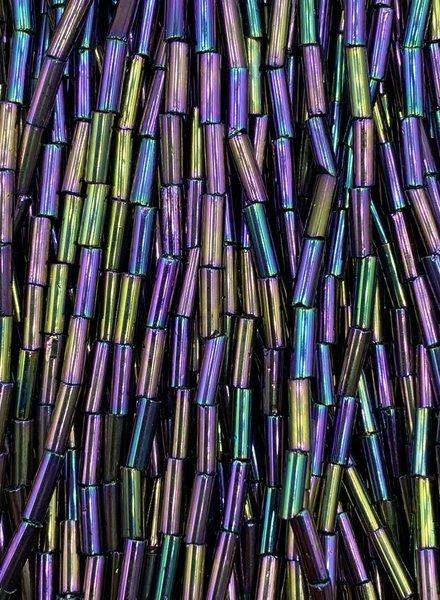 SIZE 7mm Bugle #170 Purple Iris