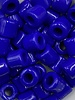 7mm Crow Bead #122 Royal Blue- 50pc.