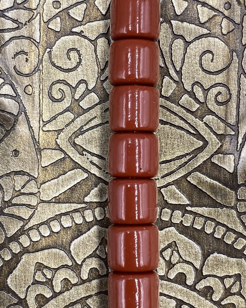 7mm Crow Bead #164 Brown- 50pc.