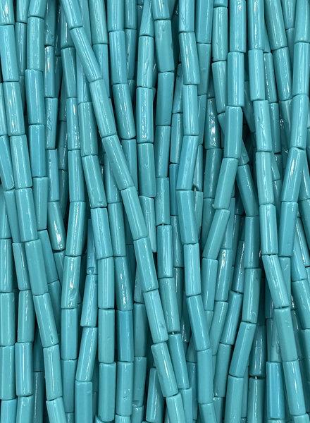 SIZE 7mm Bugle #117 Turquoise