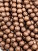 6mm Wood Beads: Espresso