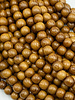 6mm Wood Beads: Natural Robles