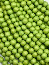 6mm Wood Beads: Pastel Green