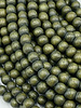 6mm Wood Beads: Jade