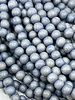 6mm Wood Beads: Grey Lilac
