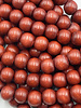 8mm Wood Beads: Burnt Umber