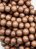 8mm Wood Beads: Espresso