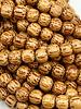 8mm Wood Beads: Natural Palmwood
