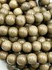 8mm Wood Beads: Natural Greywood