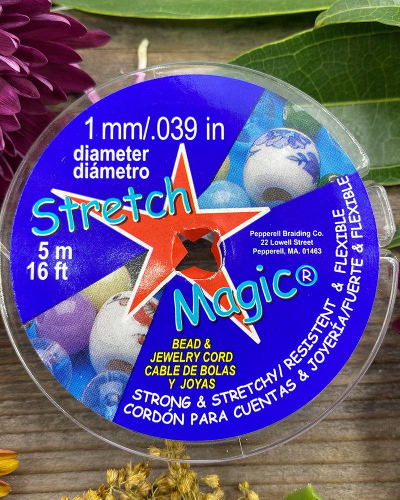 1MM STRETCH MAGIC CORD- Clear