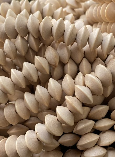 8x5mm Wood Saucer: Natural Wood