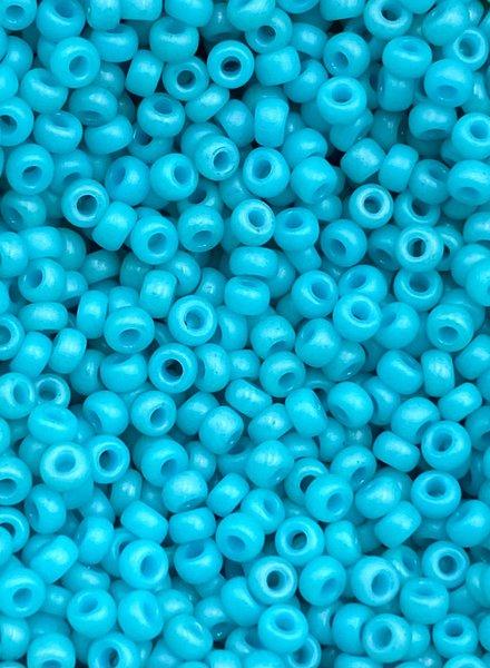 Size 11/0 Miyuki Round: Special Dyed Bright Turquoise