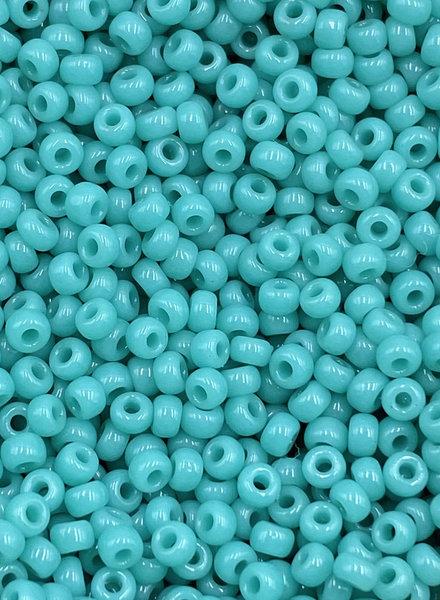 Size 11/0 Miyuki Round: Opaque Turquoise