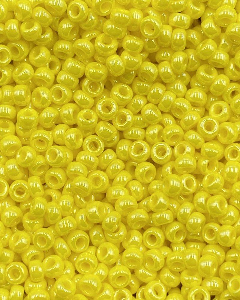 Size 11/0 Miyuki Round: Opq. Yellow Luster