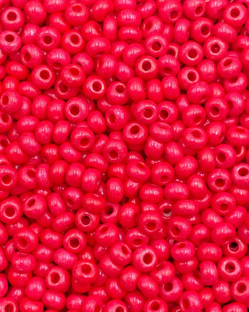 SIZE 8/0 #1525 Bright Crimson