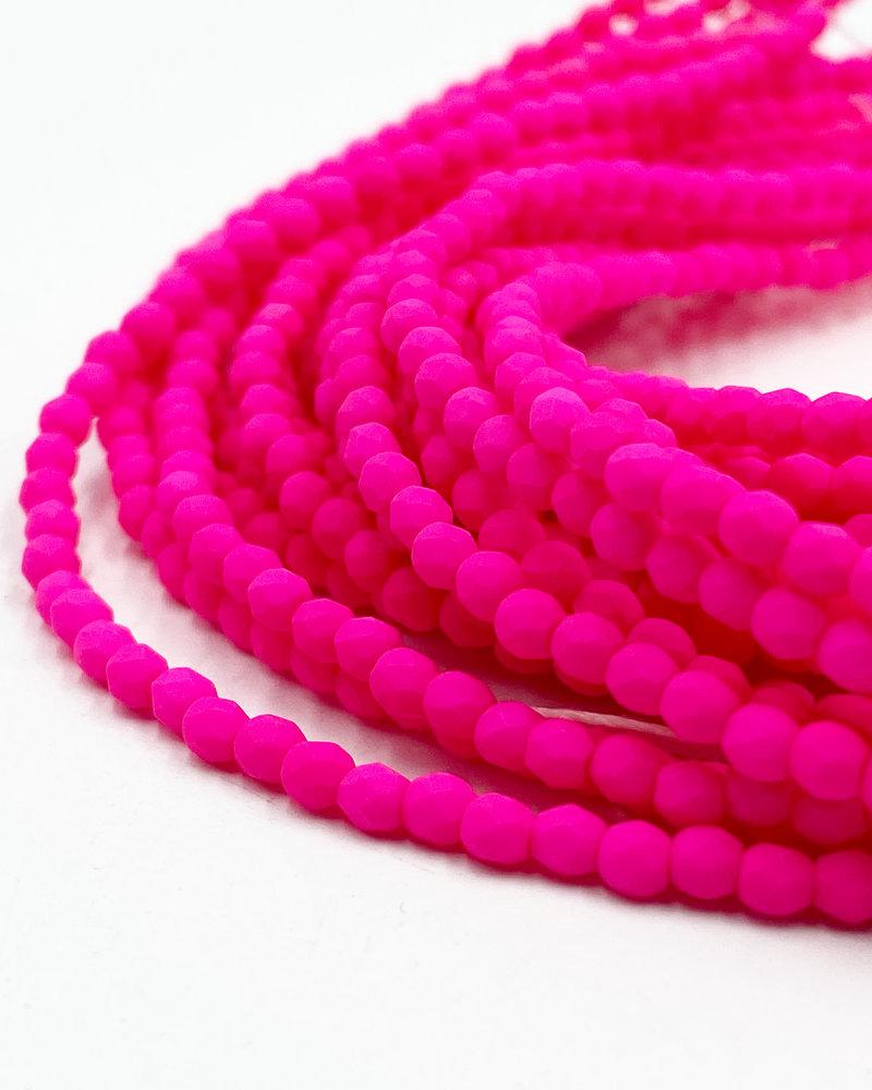 Firepolish 3mm : Neon Pink