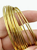 16GA ROUND CRAFT WIRE- NON TARNISH GOLD
