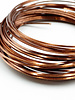 18GA SQUARE CRAFT WIRE- ANTIQUE COPPER