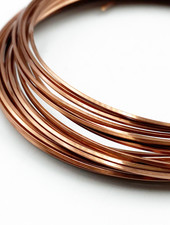 21GA SQUARE CRAFT WIRE - ANTIQUE COPPER