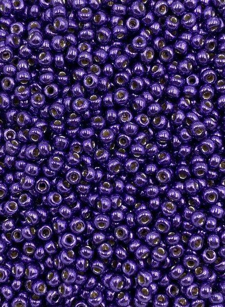 Size 11/0 Miyuki Round: Duracoat Galv Dark Lilac