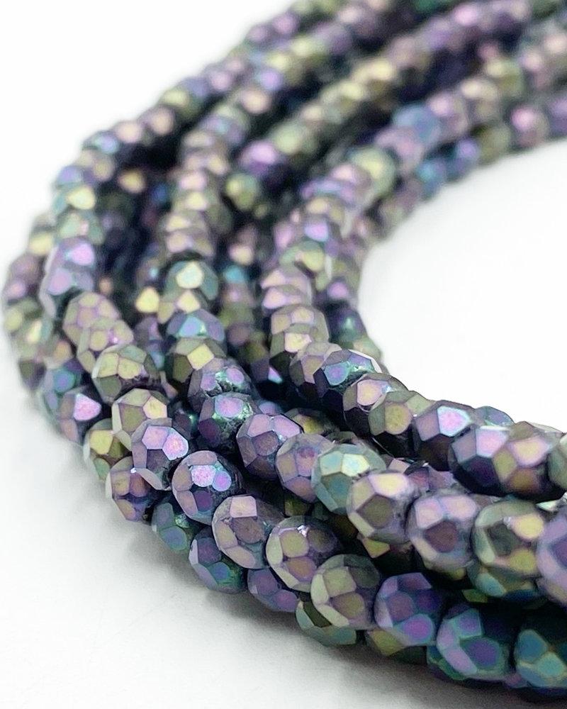 Firepolish 3mm : Matte - Iris - Purple