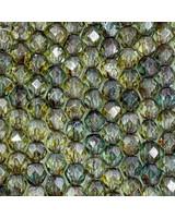 Firepolish 6mm : Luster - Transparent Green
