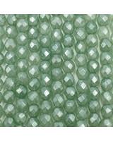 Firepolish 6mm : Luster - Stone Green