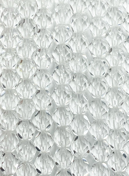 Fire-Polish 6mm : Crystal