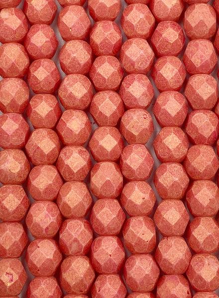 Firepolish 6mm : Pacifica Strawberry