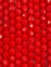 Firepolish 6mm : Opaque Red