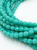Firepolish 3mm : Opaque Turquoise