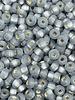 SIZE 6/0 #30m Black Diamond Matte Silver Lined