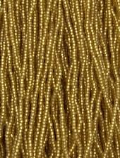 Size 11/0 #13m Light Smoke Topaz Matte Silver Lined