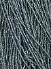 Size 11/0 #30m Black Diamond Matte Silver Lined