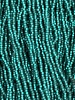 Size 11/0 #17m Emerald Matte Silver Lined