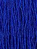 Size 11/0 #15m Capri Blue Matte Silver Lined