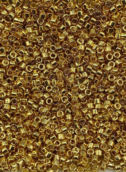 Miyuki 11/0 DELICA 24K GOLD PLATED