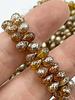 5x7mm Teardrop: Amber Mercury