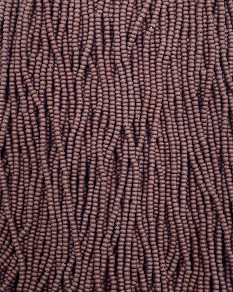 SIZE 11/0 #197m Matte Dark Brown