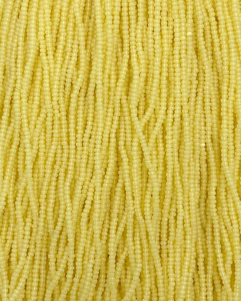 SIZE 11/0 #1358 Yellow Opal (tint)