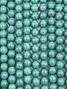 6mm Round Druk: Green Turquoise Mottle