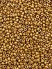 Size 11/0 Miyuki Round: Duracoat Galvanized Matte Yellow Gold