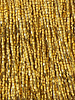Size 11/0 Two-Cut Seed Bead 24k Gold Plated: 1 Gram