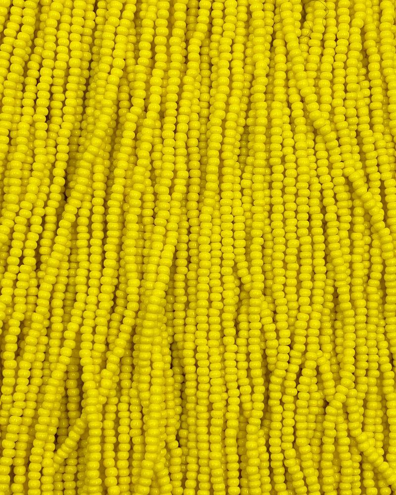 SIZE 11/0 #112 Lemon Yellow