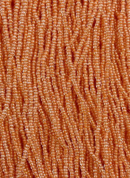 SIZE 11/0 #426 Crytal Orange Lined