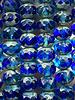 5x7mm Rondelle Sapphire Picasso