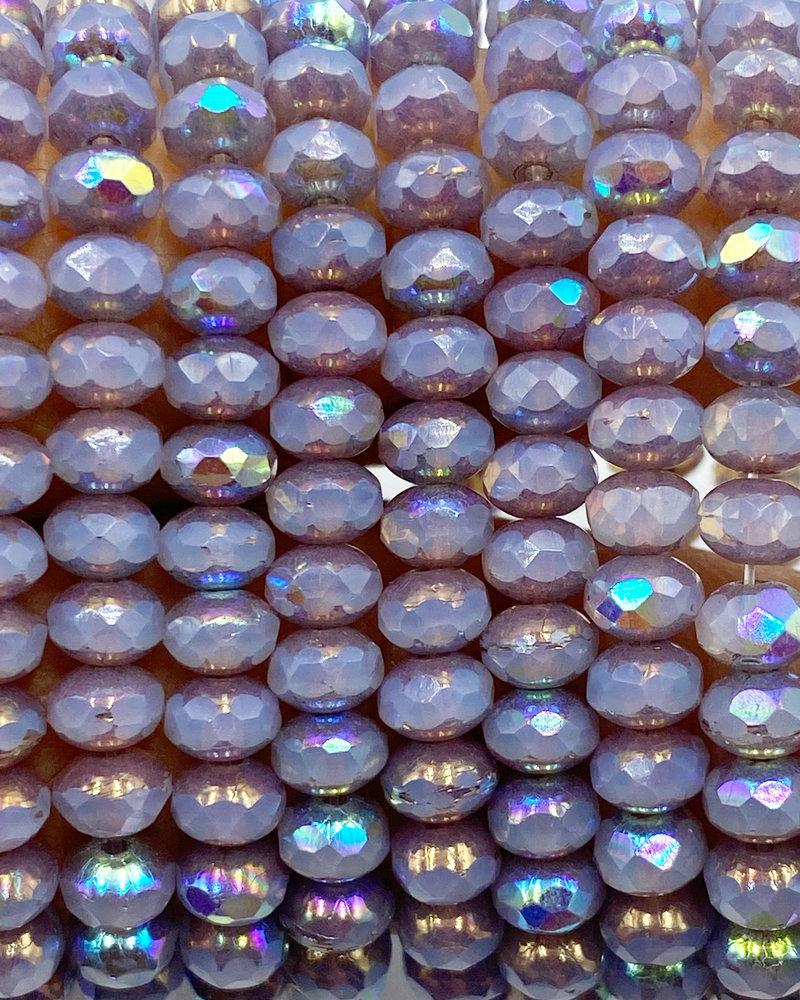 3x5mm Rondelle Lavender AB