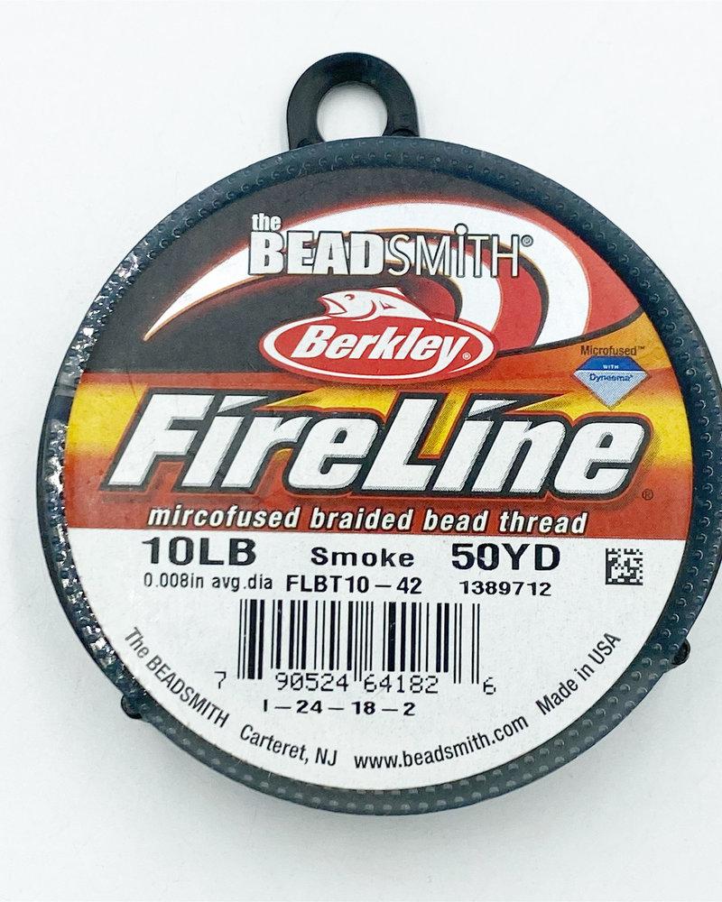 10 LB FIRELINE SMOKE GREY .008 IN/.20MM DIA 50 YRD